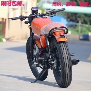 CG复古摩托车街车跑车200cc国四电喷摩托车踏板车助力车燃油车