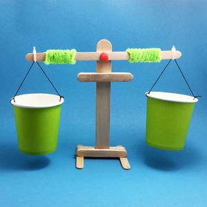 天平 科技小制作小发明diy环保手工作业幼儿园小学生拼装材料模型
