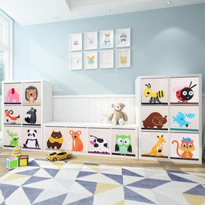 宜家格子柜用胶水粘的军用玩具模型图片
