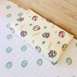 精梳純棉全棉針織棉泰國素萬乳膠枕套成人兒童寶寶枕皮定做汪汪