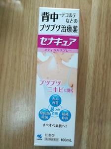 日本原装 小林制药背部胸前祛痘喷雾 后背去除粉刺痘痘喷雾剂100