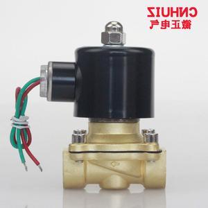 全铜水用常闭电磁阀开关阀DN15水阀4分G1/2″220V?#29031;?W-160-15