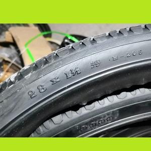 28寸自行車朝陽輪胎28x11/2外胎老式永久鳳凰飛鴿28*11/2內胎280