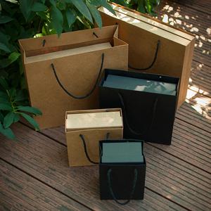 礼品盒套装生日复古礼物袋子服装纸盒礼物盒包装情人节庆天地盖