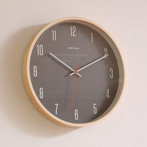 北?#32442;?#36136;挂钟客厅现代简约创意钟表静音卧室时钟时尚数字挂表家用