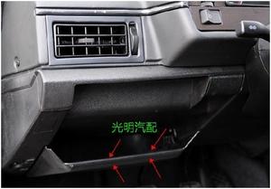 桑塔納老普桑99新秀旅行車儀表臺左雜物箱保險絲盒蓋儲物盒