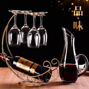 无铅水晶高脚杯红酒杯套装图片
