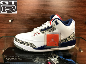 GTR体育 Air Jordan 3 OG True Blue AJ3 白蓝 854261 854262-106