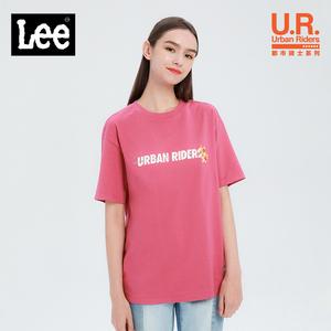 Lee商场同款短袖t恤女宽松上衣2020新款潮流衣服显瘦L397523RT68T