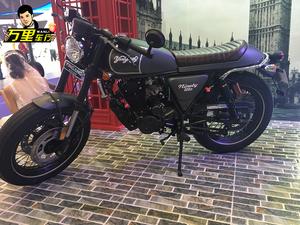 【万里车行】 银钢复古拿铁YG200-8c 电喷国四 油冷复古摩托车
