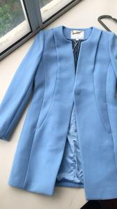 施華布朗羊毛大衣,100%羊毛,中等厚度。7碼(最小碼),一