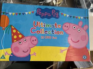 英国正版peppa pig粉红猪小妹小猪佩奇英文dvd