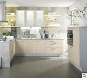 东莞深圳整体橱柜L型厨房橱柜定做双饰面板厨柜简约现代定制橱柜