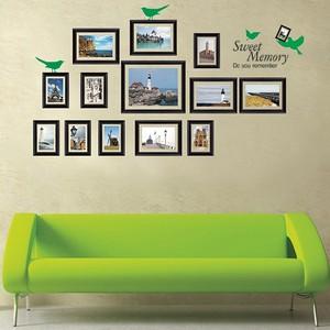 三代可移除 复古照片人物/著名风景相框 客厅卧室沙发