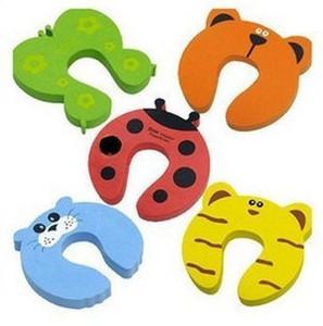 宝宝/婴儿安全防护用品 可爱卡通动物儿童门卡/门夹 防夹卡门挡