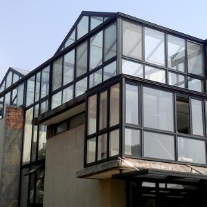 【北京绿盾中天】兰州钢结构碳素方钢阳光房欧式别墅复式阳光房