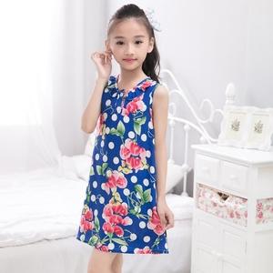 女童睡裙夏季棉绸