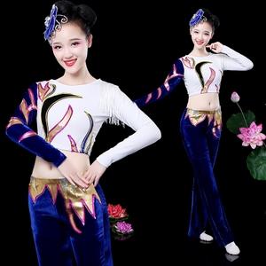 操操女_体操服装比赛服啦啦操演出服舞台表演服广场健美操舞蹈服装成人女
