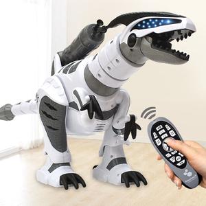 恐龍玩具遙控電動益智行走對話機器人仿真智能模型霸王龍男孩禮物