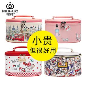 化妝包女網紅大容量ins風超火化妝品收納包盒韓國便攜化妝箱手提