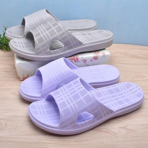 环保无味情侣居家拖鞋防滑泡沫超轻夏季浴室拖鞋男女室内一字拖鞋