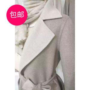 蒙古國進GOBI羊絨大衣ORGANIC系列原色女款雙面外套精品