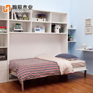 书柜折叠床隐形床