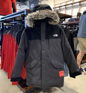 纽约大宝 THE NORTH FACE/北面 男士新款毛领连帽加厚保暖羽绒服