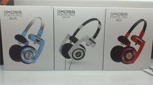 KOSS Porta Pro 高斯pp 便携 头戴式耳机 经典低音 锦艺国行彩色