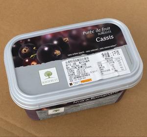 烘焙原料法国进口乐果纷冷冻黑加仑果泥果茸果蓉果溶黑醋栗 1kg