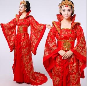 古代皇后装服装图片