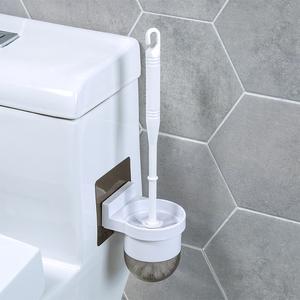 馬桶刷套裝清潔刷廁所刷架免打孔衛生間壁掛式潔廁刷子長柄無死角