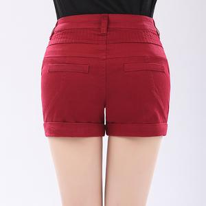 大码女式西装短裤夏装