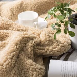 長毛絨床單加厚法蘭絨毛毯被子辦公室午睡秋冬季雙層單人宿舍學生