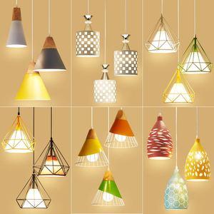 北歐餐廳吊燈三頭創意個性吧臺小吊燈臥室現代簡約客廳led餐桌燈
