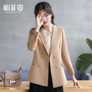 風衣女中長款2020春夏季新款流行卡其色時尚氣質外套正品潮流大衣