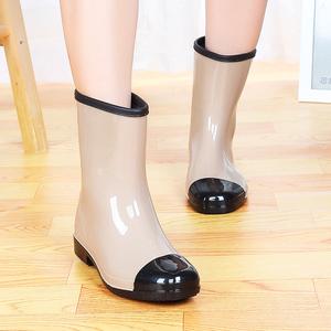 女水鞋_雨鞋女夏韩国学生