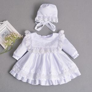 女宝生日装公主裙一周岁女婴女宝宝生日宴裙子1岁2宝宝装婴儿春秋