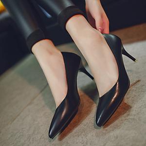 银色高跟鞋细跟5厘米