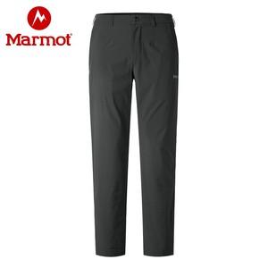 marmot土撥鼠19夏季運動戶外休閑薄款透氣彈力男士速干褲子