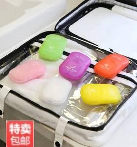 一次性香皂片儿童洗手纸便携式洗手皂旅游随身带迷你香皂抖音同款