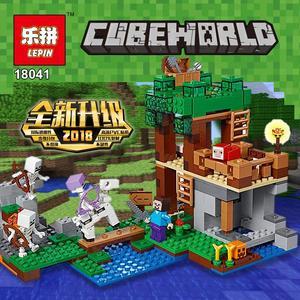 2020我的世界兼容樂高積木諾高系列骷髏攻襲21146玩具18041