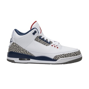 Air Jordan 3 Retro OG 'True Blue' 2016 aj3乔3白蓝 854262-106