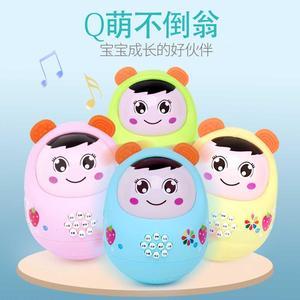 音乐不倒宝宝玩具3-6-12月0-1个故事儿童岁早教婴儿益智事机小孩