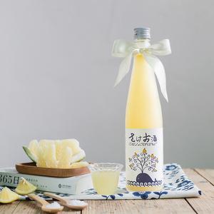 #小盐柚酒#日本北岛酒造 盐柚子酒 微酸爽口500ml 柚子酒萄乐