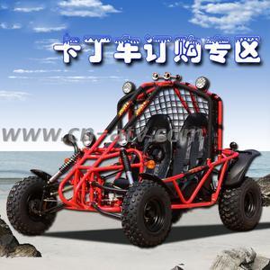 四轮越野卡丁车 双人全地形沙滩车atv 景区出租钢管四轮摩托车图片