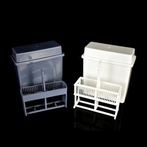 塑料染色缸 染色架 24片裝塑料載玻片染色缸、30片染色架(套裝) 抗原修復盒