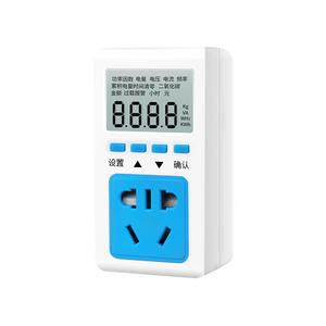 计费显示器功率仪电源电压表显示仪检测插座式数字功率显示测试仪