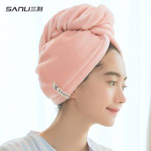三利干发帽超强吸水双层加厚浴帽擦头发速干包头毛巾旗舰店官方