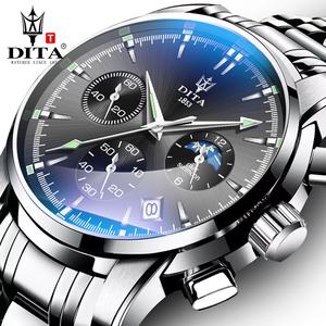 迪塔2019新款手表男士全自动机械表潮流概念国产防水石英男表瑞士